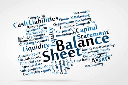 Monthly balance sheets in cash flow software update