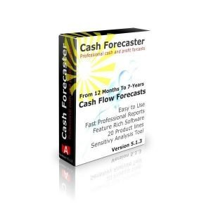 Cash flow Excel Template Cash Forecaster Software