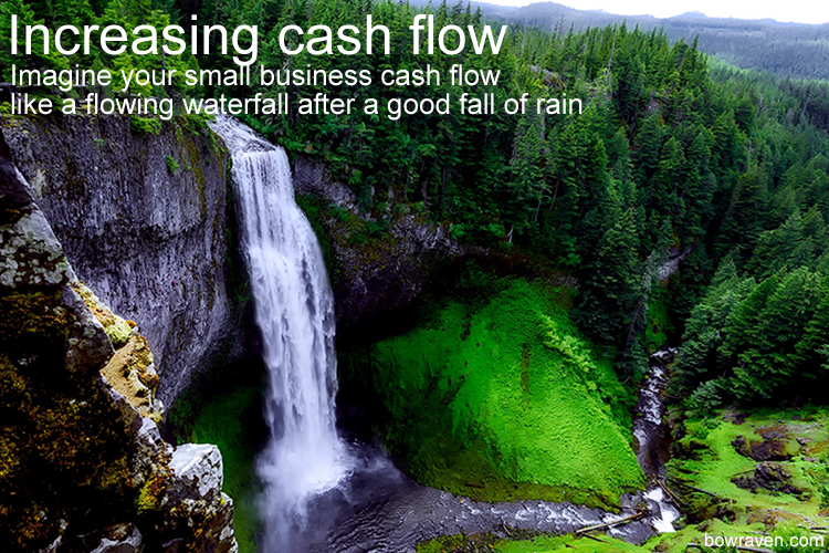 Increasing cash flow